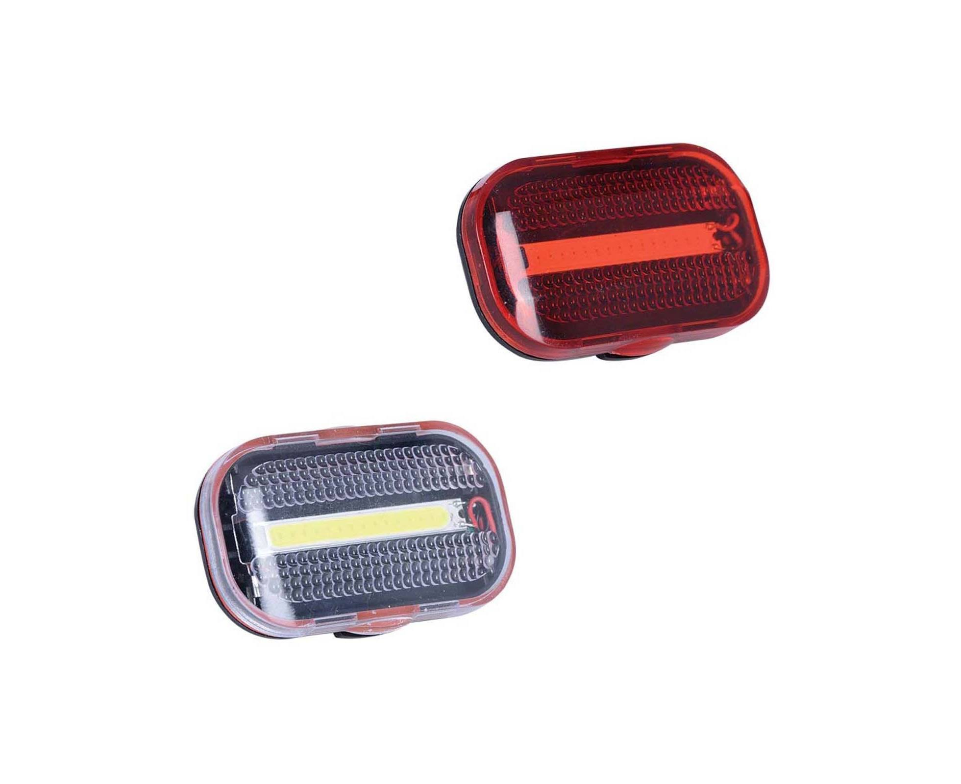 Oxford Red Bright LED Road Bike Light-Set