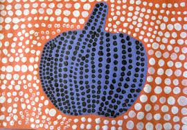 Yayoi Kusama Pumpkin Sculpture by Ps77 Brooklyn Art News Yayoi Kusama Style Pumpkins