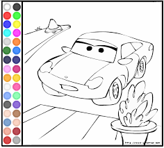 Coloring Pages Of Disney Cars Sally