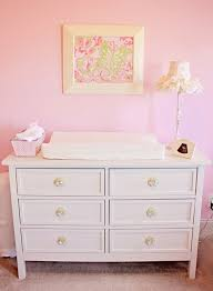 pink and green butterfly nursery