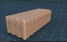 Plastic Shipping Container 02 By Volatile Vertex