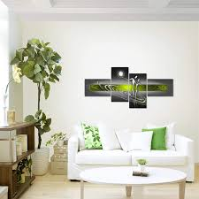 runa bilder abstrakt figuren wandbild vlies fertig zum