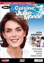 cuisine de julie andrieu dvd la cuisine de julie andrieu autour du monde tome 1 thailande