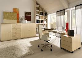 Blonde Wooden Furniture With Minimalist Look For Mdoern Home ... Office Ideas Minimalist Home Ipirations Modern Beautiful Minimalist Office Interior Design 20 Minimal Design Inspirationfeed Designs Work Area Two Apartments In A Family With Bright Bedroom For The Kids Best Ideal Hk1lh 16937 Scdinavian White Color Wooden Desk Peenmediacom Floating Imac And