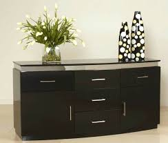 Dining Room Buffet Furniture Sideboard With Dark Color Ideas