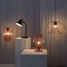 Jonas 1 Lamp Copper Wire Pendant Ceiling Light