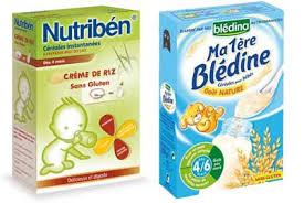 céréale dans le biberon de bébé