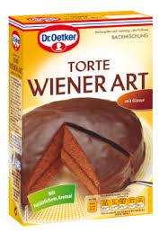 baking mixture sacher cake dr oetker sacher cake