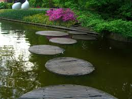 Stone Pathways: Stepping Stone Walkway Ideas + Designs   INSTALL ... Garden With Tropical Plants And Stepping Stones Good Time To How Lay Howtos Diy Bystep Itructions For Making Modern Front Yard Designs Ideas Best Design On Pinterest Backyard Japanese Garden Narrow Yard Part 1 Of 4 Outdoor For Gallery Bedrock Landscape Llc Creative Landscaping Idea Small Stone Affordable Path Family Hdyman Walkways Pavers Backyard Stepping Stone Lkway Path Make Your
