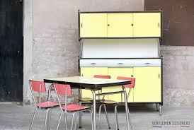 table de cuisine vintage table de cuisine vintage formica jaune 2 rallonges http