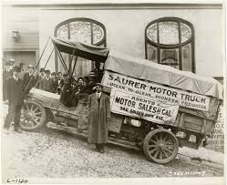 Men With Saurer Truck,