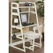 Crate And Barrel Leaning Desk White by Southern Enterprises Manchester Espresso Ladder Desk Set 200346