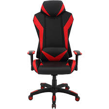 Hanover Commando Ergonomic High-Back Gaming Chair In Black And Red With  Adjustable Gas Lift Seating And Lumbar Support, HGC0105 Lecture Hall Chairs Waiting Sofas Conference And Office Seating Ergonomic Gaming Chair Shop For High Back Computer Design Comfort Black Vinyl Stackable Steel Side Reception With Arms Cheap Office Waiting Room Chairs Find Raynor Bodyflex Guest Set Of Two Lebanon Comfortable Top 2017 Hille Se Skid Base Classroom With Wooden Seat Three Ergonomic Empty In The Room A Modern Thigpen Mesh Task