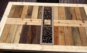 Pallet Patio Furniture Plans by Ana White Modified Outdoor Pallet Patio Table Diy Projects