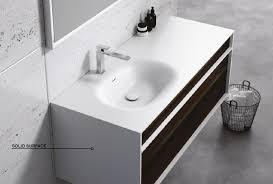 rubicer badmöbelset geo exklusives und elegantes badezimmer waschbecken set
