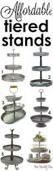 Rotating Christmas Tree Stand Hobby Lobby by Best 25 3 Tier Stand Ideas On Pinterest Galvanized 3 Tier Stand