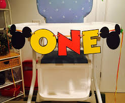 Mickey Mouse High Chair Banner   Modern Chair Decoration Minnie Mouse Room Diy Decor Hlights Along The Way Amazoncom Disneys Mickey First Birthday Highchair High Chair Banner Modern Decoration How To Make A With Free Img_3670 Harlans First Birthday In 2019 Mouse Inspired Party Supplies Sweet Pea Parties Table Balloon Arch Beautiful Decor Piece For Parties Decorating Kit Baby 1st Disney