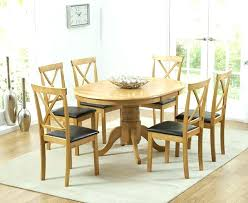 Large Round Dining Table Seats 6 8 Furniture Kitchen For Person Room Square Glass