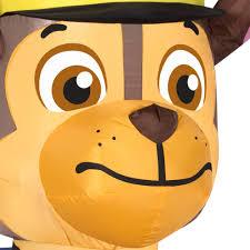 Walmart Halloween Blow Up Decorations by Gemmy Airblown Inflatable 4 U0027 X 2 U0027 Paw Patrol Chase With Pumpkin