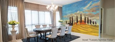 Dining Room Murals