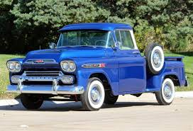 1959 Chevrolet Apache For Sale #2184254 - Hemmings Motor News ... Tci Eeering 51959 Chevy Truck Suspension 4link Leaf Customer Gallery 1955 To 1959 Trucks History 1918 Chevrolet Apache 3100 Stock 139365 For Sale Near Columbus Oh Retyrd Photo Image Classic Cars Sale Michigan Muscle Old Amazoncom Custom Autosound Stereo Compatible With 1949 Chevygmc Pickup Brothers Parts 4x4 Rust Free Panel Very Cool Project Gmc Rat Rod 1958 Shortbed Stepsides Only Pinterest Chevy Chevrolet Station Wagon Rare 164 Scale Diorama Diecast One Fine 59