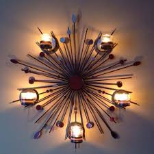 Starburst Wall Art Sunburst Sconce Sandy S Partylite Ideas Sconces