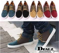Mens Fashion Sneaker Casual Flat Shoes LACE UP Comfy Frosted Loafer