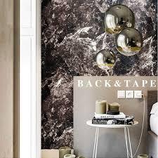 livelynine klebefolie marmor folie schwarz selbstklebende