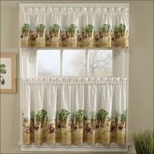 White Kitchen Curtains Valances by Kitchen Beautiful Kitchen Curtains Ideas Modern Kitchen Curtains