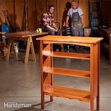 building bookshelves the family handyman