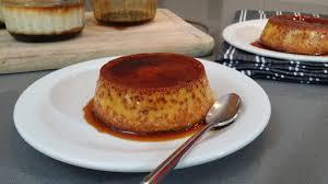 cuisine dessert condensed pudding chef