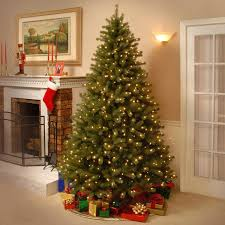 National Tree Co Green Spruce Artificial Ge Christmas Trees Led Lights