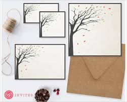 Tree Rustic Wedding Invitation Background Download