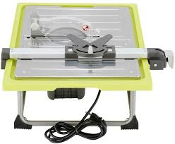 Ryobi Tile Saw 7 by Ryobi 7 In Tile Saw With Stand Powerful Induction Motor Miter