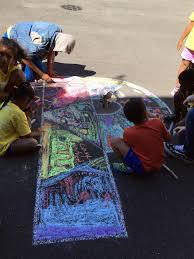 Bed Stuy Ymca by Column Five Ny And Bed Stuy Ymca Turn Camp Memories Into Chalk Art