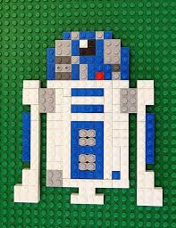 Printable Star Wars Lego Mosaic Patterns For Fans Of The Force Awakens
