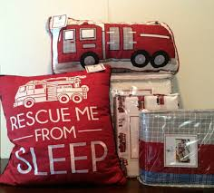 7 Pc Kids Twin Set Lil Dickens Fire Truck Bedding Police Car Quilt ...