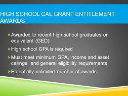 i ve applied for a cal grant what s next ppt video online download