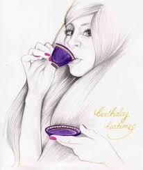 Pencil Drawing Love Birth Day Birthday Cake Pencil Drawing – Birthday8