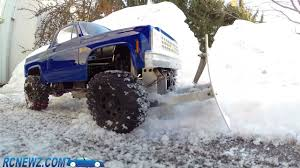 100 Rc Truck With Plow RC Snow YouTube