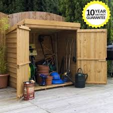 Keter Woodland Lean To Storage Shed by Wooden Garden Storage Shed 5ft X 3ft Tool Lawn Mower Toy Wood