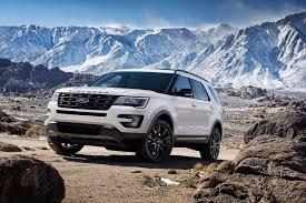 Ford Explorer Captains Chairs Second Row by 2017 Ford Explorer Platinum Luxury Bonus Wheels Groovecar