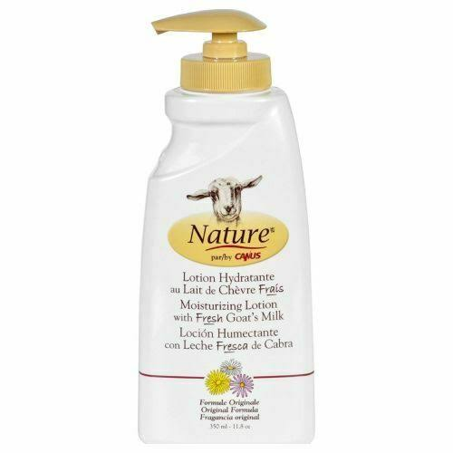 Nature by Canus Body Lotion - Original Formula Goats Milk, 11.8oz