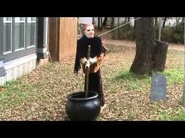 Homemade Animatronic Halloween Props by Homemade Halloween Animatronic Witch Youtube