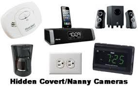 WiFi Wireless Nanny Spy Cameras