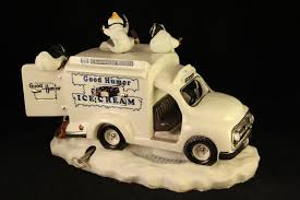 100 Ice Cream Truck Music Box Franklin Mint The Good Old Summertime Penguin
