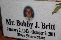 Bobby Joe Britt 1943 2011 Find A Grave Memorial