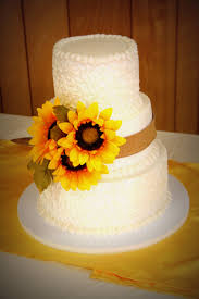 Sunflower Wedding Cake Images