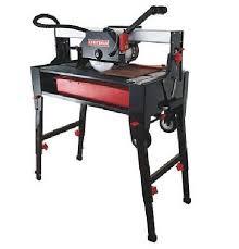 Mk Tile Saw Home Depot by Craftsman 18 U201d Laser Tile Saw Toolmonger