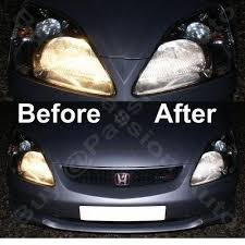 honda civic 04 06 facelift inc type r xenon blue replacement